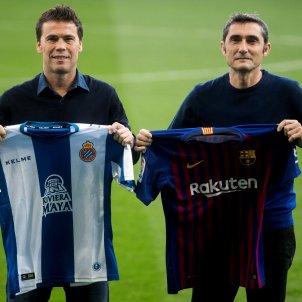 Rubi Ernesto Valverde Espanyol Barça EFE