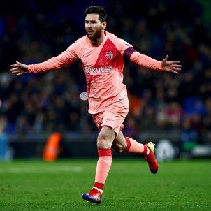 Messi Jordi Alba Espanyol Barca EFE