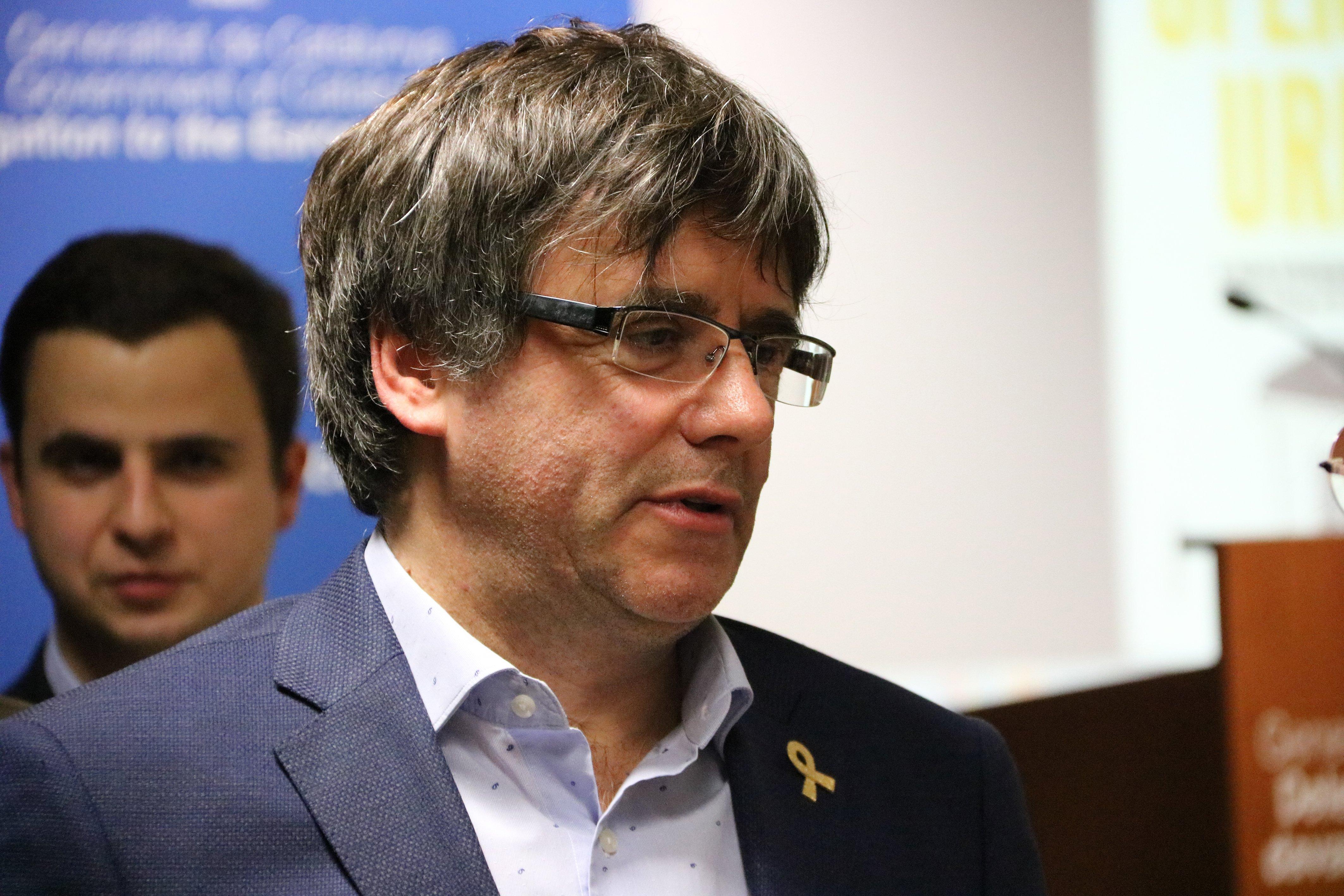President Carles Puigdemont - ACN