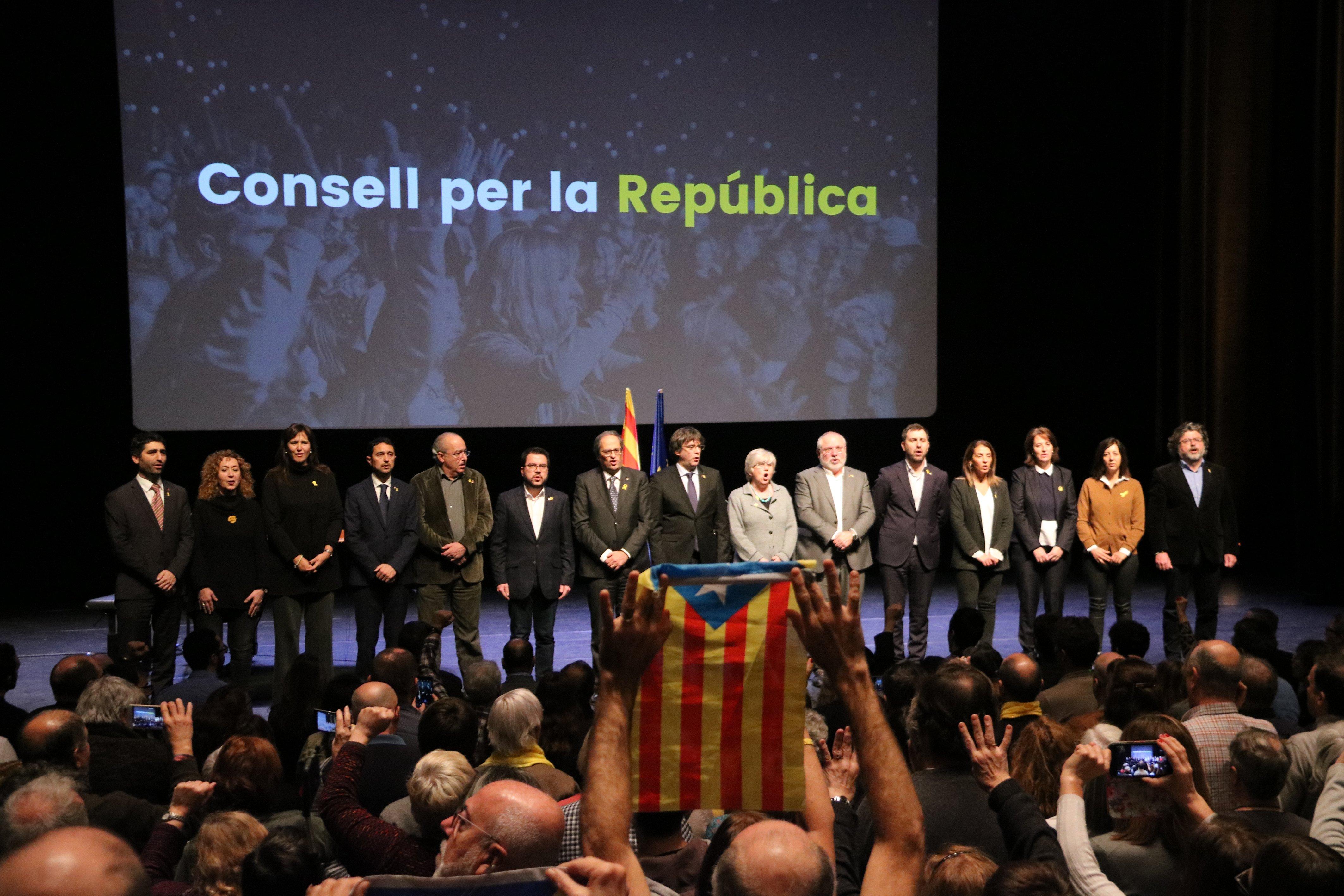 Consell per la República presentació Brussel les ACN