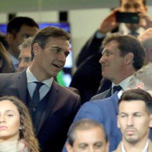 Pedro Sánchez Boca Libertadores Bernabéu EFE
