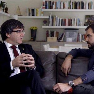 Puigdemont Ustrell Quatre Gats TV3jpg