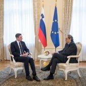 President Eslovènia President Quim Torra - ACN
