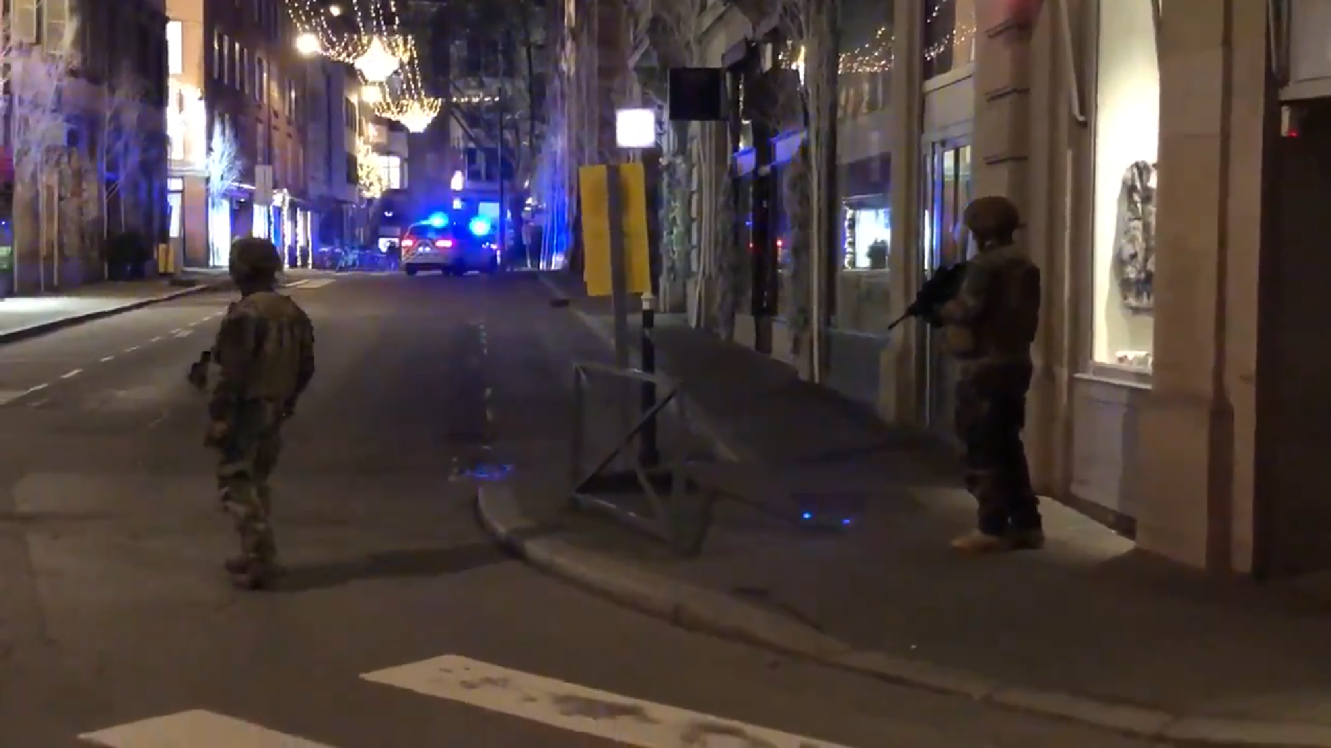 tiroteig estrasburg - captura