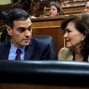 Pedro Sanchez Carmen Calvo Congrés Catalunya EF