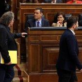 Pedro Sánchez Joan Tardà Gabriel Rufián Congrés Diputats Efe