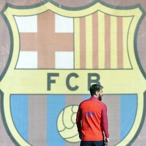 Leo Messi Barça entrenament EFE