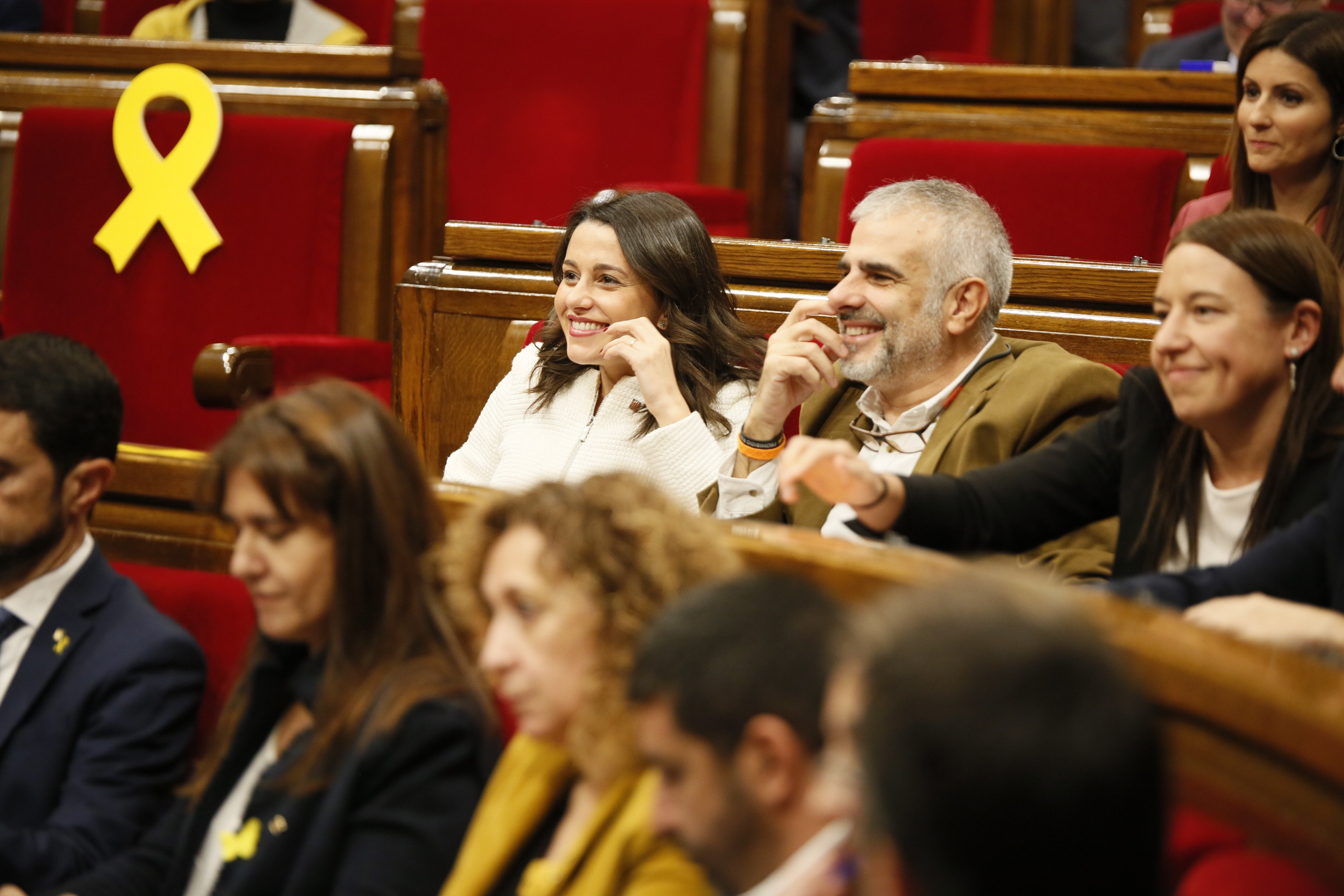 Ciutadans rient Arrimadas Carrizosa - Sergi Alcàzar