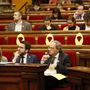 Torra Aragonès Hemicicle Parlament - Sergi Alcàzar