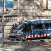 Furgoneta policia mossos antiavalots Brimo Arro - Sergi Alcazar