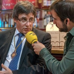 Puigdemont Cat Radio