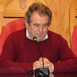 Josep Andreu alcalde Montblanc vaga de fam ACN