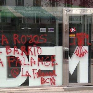 pintades falange podem barcelona foto twitter podem barcelona