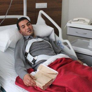 Ferit descarrilament tren Vacarisses hospital Anton Rosa
