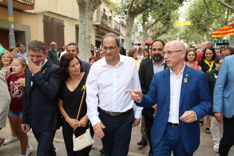 alcalde arenys de munt joan rabasseda quim torra - acn