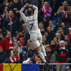Cristiano Ronaldo Reial Madrid Atlètic Efe
