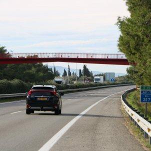 ap-7 aldea cotxe carretera autopista - acn