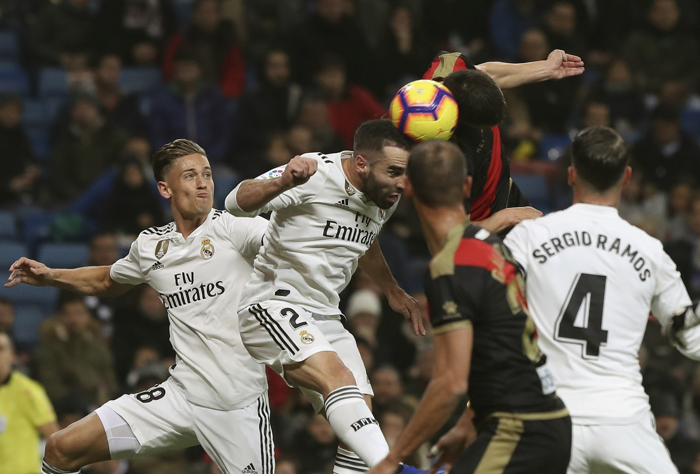 Llorente Carvajal Ramos Madrid Rayo EFE