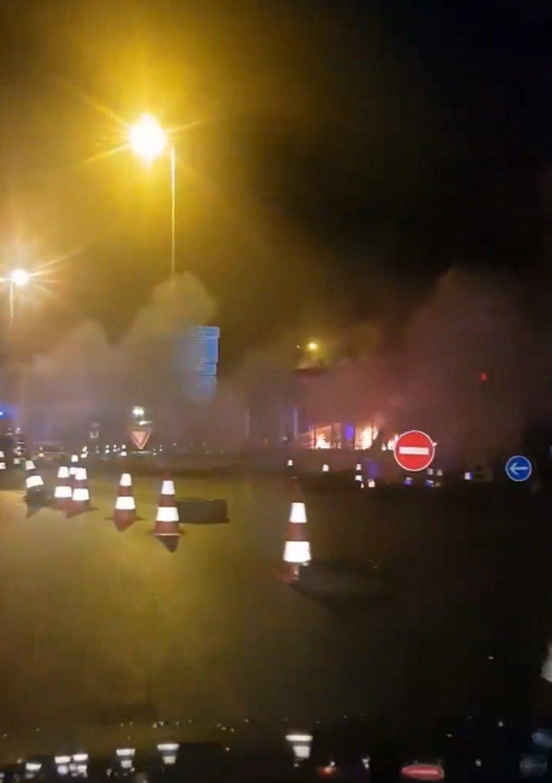 peatges cremats armilles grogues perpinya france news 24