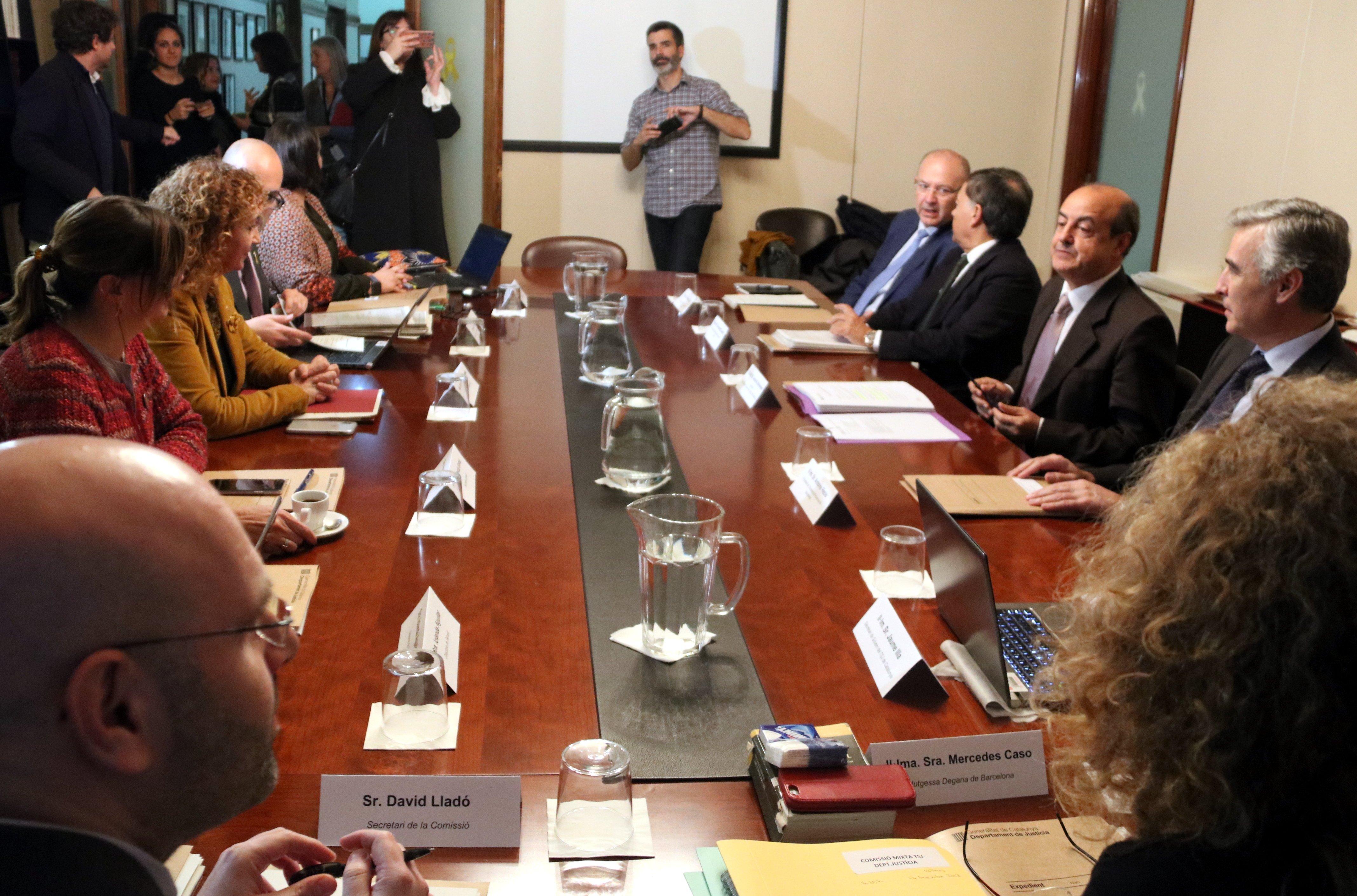 Reunió Justícia i TSJC ACN
