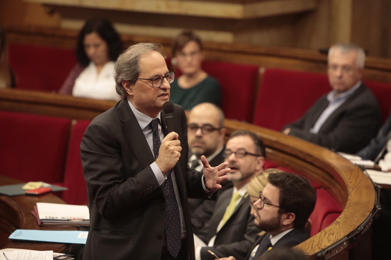 EL NACIONAL Quim Torra   Víctor Serri