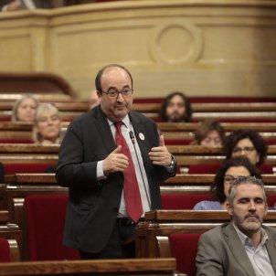 EL NACIONAL Miquel Iceta   Víctor Serri