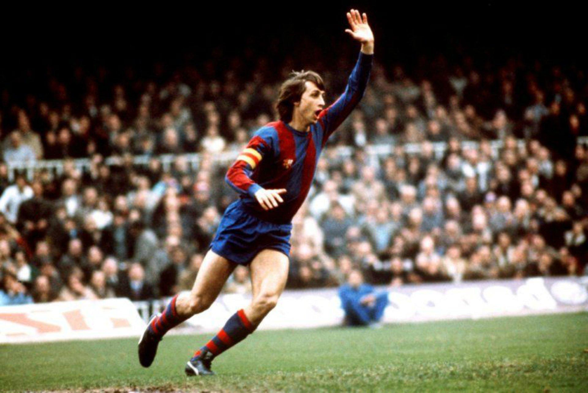 cruyff jugador FC Barcelona