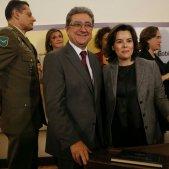 Presa de possessió Dolors Montserrat Soraya Saenz de Santamaria Enric Millo - Sergi Alcazar