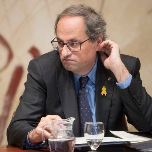 Quim Torra Consell executiu des 2018 Efe