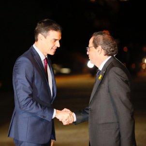Arribada Sánchez reunió Torra pedrables - sergi alcazar