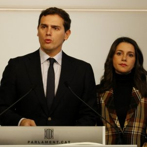 Albert Rivera Parlament de Catalunya