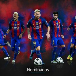 Messi Inesta Neymar Piqué Suárez UEFAcom
