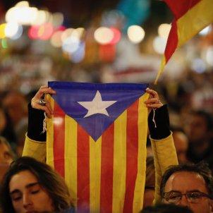 estelada recurs manifestació unitaria 21-d barcelona passeig de gràcia - sergi alcazar