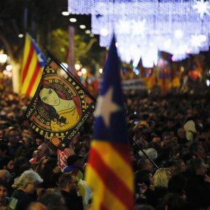 republica manifestació unitaria 21-d barcelona passeig de gràcia - sergi alcazar