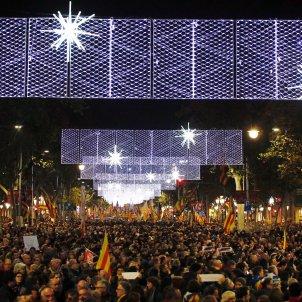 manifestació unitaria 21-d barcelona passeig de gràcia - sergi alcazar