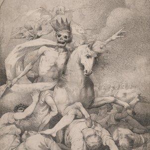 John Hamilton Mortimer La mort de l'Apocalipsi (1775)