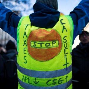 protestes armilles grogues efe