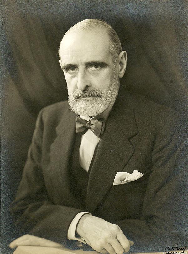 Fotografía de Francesc Cambó. Fuente Instituto Cambó