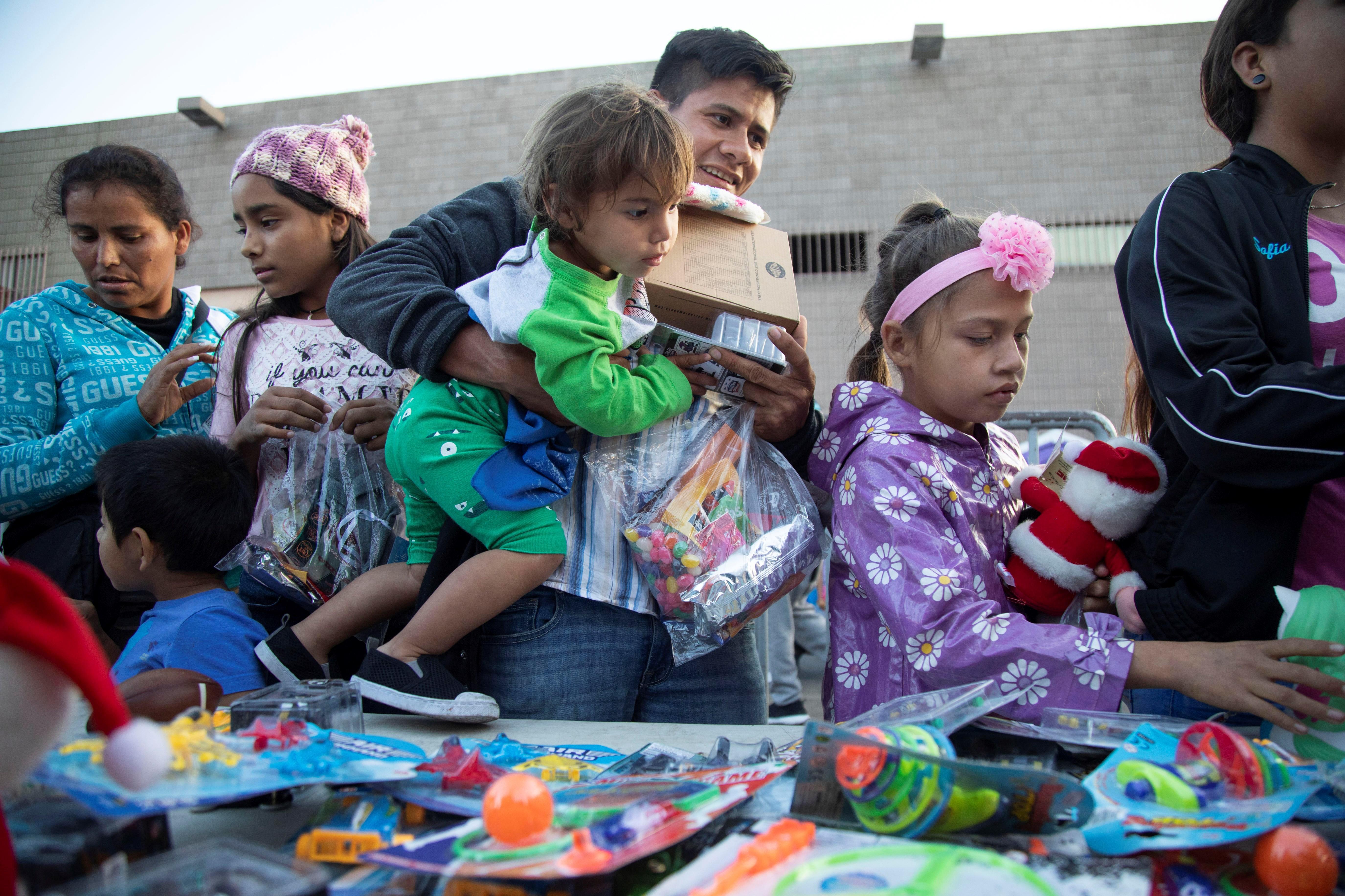 menors nens nadal frontera estats units - efe