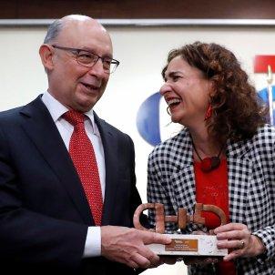 Montoro Montero premis sanitat EFE