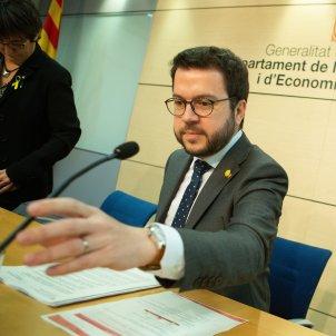 Pere Aragonés Administració Tributrària catalunya Efe