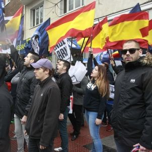 Manifestació d'ultradreta a Madrid