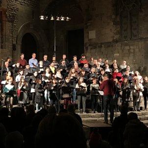 Concert Orfeó Català nadales plaça rei