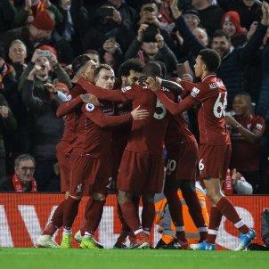 Shaquiri Salah Lovren Liverpool Arsenal EFE