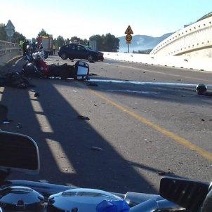 accident vilademuls - mossos