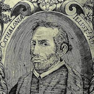 Test 39. Pau Claris, president de la Primera República catalana. Retrat contemporani de Claris (1641). Font Viquipedia