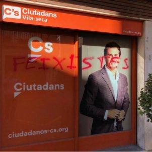 Pintades seu Ciutadans Vila Seca Tarragona
