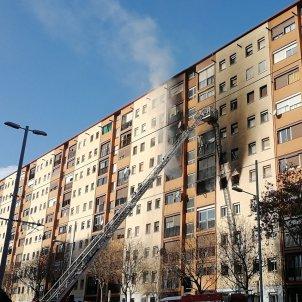 Incendi Sant Roc Badalona - @AjBadalona
