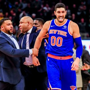 enes kanter new york knicks EFE