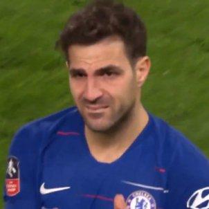 Cesc Fàbregas Chelsea @EmiratesFACup